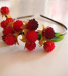Ozdoby do vlasov - Berries - 2805833