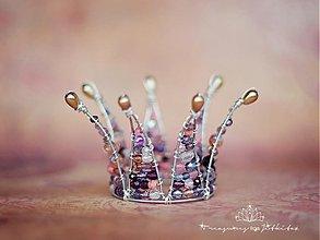 Ozdoby do vlasov - sweet baby princess - 2809695
