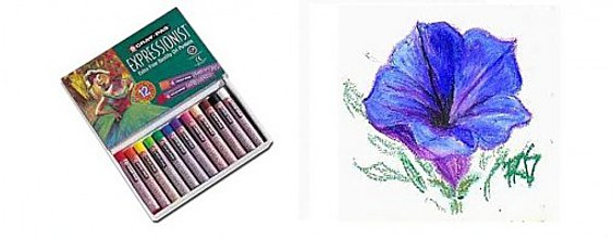 Nástroje - Olejový pastel - Extra Fine Quality - 12 farieb - 281517