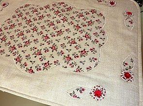 Úžitkový textil - Prestieranie - Ružičky - 2816777