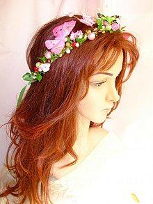 Ozdoby do vlasov - korunka, venček lúčnej víly, typ 15. - 2817850
