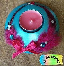 Svietidlá a sviečky - Cyklaménový dotyk - 2820020