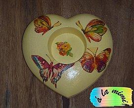 Svietidlá a sviečky - Motýle - 2820115