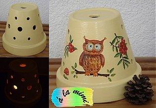 Svietidlá a sviečky - Sovička - 2823950