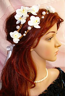 Ozdoby do vlasov - venček hradnej pani, typ 16. - 2824206