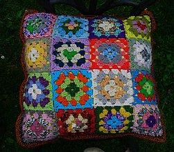 Úžitkový textil - Hopsasa - háčkované obliečky na vankúš - 2824491