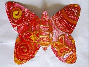 Odznaky/Brošne - Motýlik - 2825373