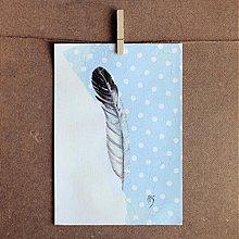 Kresby - Prifúknuté pierko - 2825523