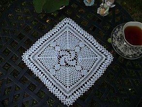 Úžitkový textil - Petra - háčkované prestieranie - 2826920