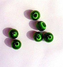 Korálky - textilná korálka, 1,5 cm, 1 ks - 2828279