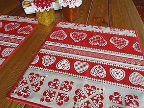 Úžitkový textil - Prestieranie  - tradičné ornamentové - - 2834446