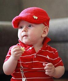 Detské čiapky - retrobaretka č.3 - 2838635