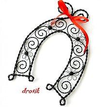 Dekorácie - ►Podkovička◄ pre ♥ šťastie ♥ - 2839354