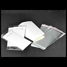Obalový materiál - dárkové kartičky na prívesok/ biela/ 195x90mm/ 50ks - 2839882