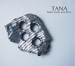 Odznaky/Brošne - Tana šperky - keramika/platina - 2849895