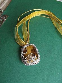 Náhrdelníky - Tygrie oko -náhrdelnik.II. - 2850645