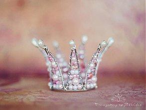Detské doplnky - pink pearl baby princess - 2850856