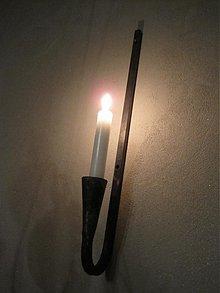 "Svietidlá a sviečky - svietnik ""ihla"" - 2851091"
