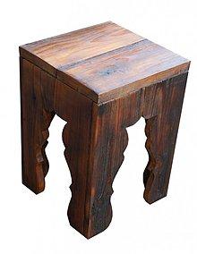 Nábytok - Vyrezávaný stolček - 2853665