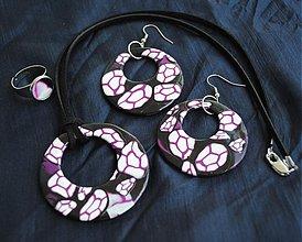 Sady šperkov - Fialový set - 2858496