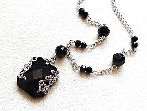 Náhrdelníky - tajomstvo čierneho diamantu - 2863748