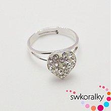 Prstene - Prsten s ŠATONY 10 mm SWAROVSKI ® ELEMENTS - 2864753