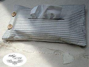 Úžitkový textil - Vrecko na vreckovky I - 2865822