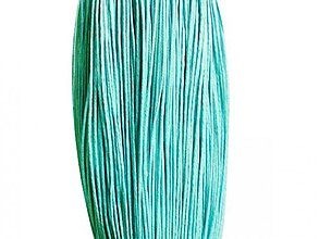 Galantéria - NAV3289, ŠNÚRKA Voskovaná 1.5mm CYAN /1m - 2868523