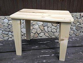 Nábytok - Detský stolík-drevený - 2878311