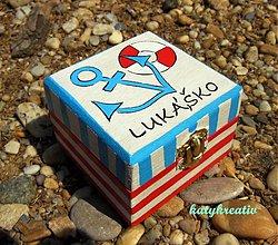 Krabičky - krabička s menom drobca - 2882975