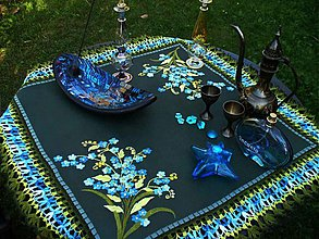 Úžitkový textil - Zánebudky - vyšívané a háčkované prestieranie - 2884002