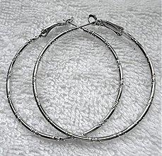 Komponenty - Kov.kruhy 5cm-strieb-1pár - 2885116