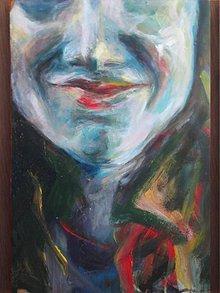 Obrazy - Prístup (autoportrét) - 2891114