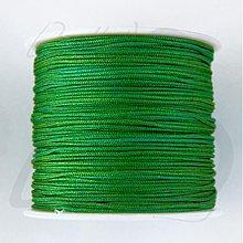 Galantéria - NAV3312, ŠNÚRKA Shamballa 1mm ZELENÁ /1m - 2895234