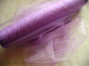Textil - organza LILA - 289589