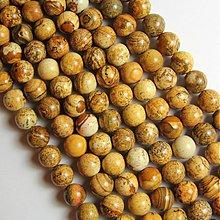 Minerály - Prírodné korálky - jaspis obrázkový - 2896059