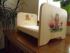 Hračky - Postieľka pre bábiky - 2900250