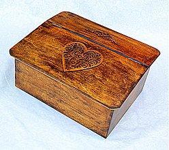 Nádoby - Chlebník srdcová záležitosť - 2900593