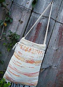 Kabelky - Tkaná taška žlto-oranžová 1 - 2900804
