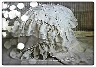 Úžitkový textil - fatiqué Pom Pom - 2901957
