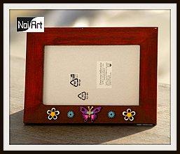Rámiky - Rámik, Motýľ a kvietky - 290258