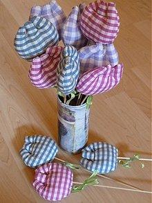 Dekorácie - Levanduľové tulipánky - 2902717