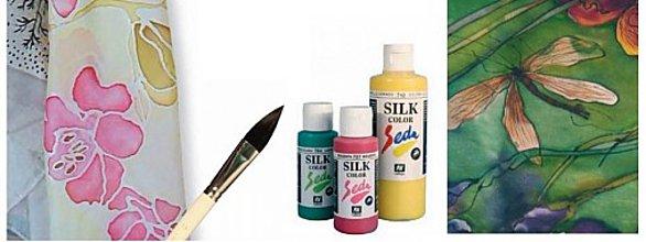 Farby-laky - AKCIA VEĽKÁ ZĽAVA - VÝPREDAJ farby na hodváb - 2904505