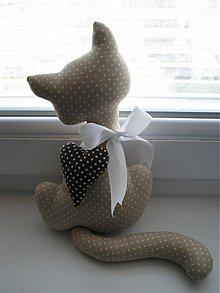 Dekorácie - Svetlo hnedá mačička - 2906182