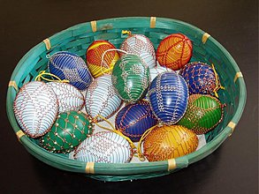 Dekorácie - veľkonočné vajíčka - 29081