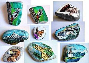 Dekorácie - Maľba na kamienok na objednavku - 2908589