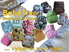 Detské doplnky - BabyTree Kapsovka s bambusovým dotykom DIZANJ NA ŽELANIE (veľ.S-M-L)+vkladačka - 2909296