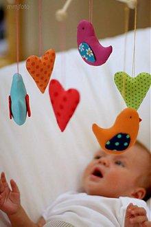 Detské doplnky - Kolotočík vtáčikovosrdiečkový - 2914162