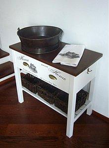 Nábytok - Stolik pod umyvadlo... - 2915344