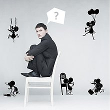 Grafika - Myši uličnice - 2916886